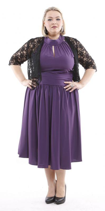 Kleid lila violett