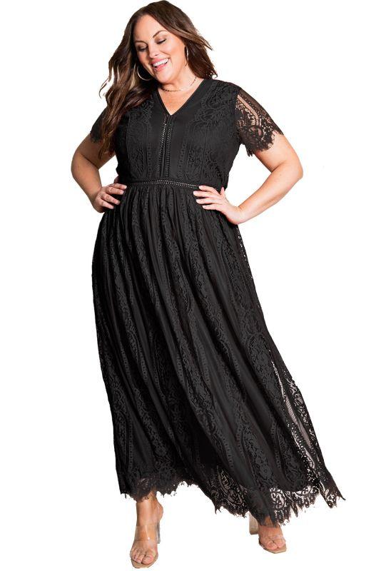 VICHY - 50s Kleid - schwarz/weiß - debbys.de