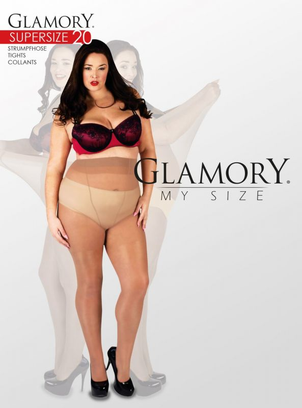 GLAM - Supersize Strumpfhose - make up - Gr. 64-74