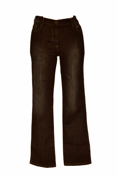 NO SECRET - Designer Stretch Jeans (5304) - schwarz - Gr. 50