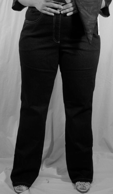NO SECRET - Designer Stretch Jeans (5415) - schwarz